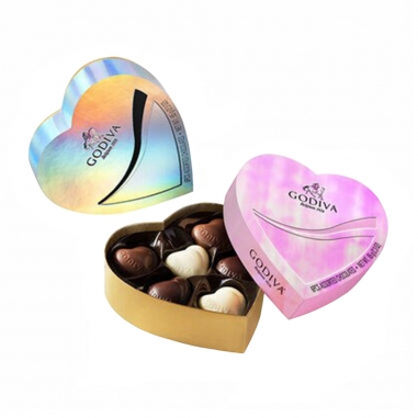 GodivaGodiva GODIVA 巧克力心型禮盒六顆裝(隨機出貨)