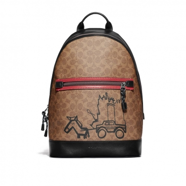 Coach蔻馳(精品) ACADEMY BACKPACK後背包