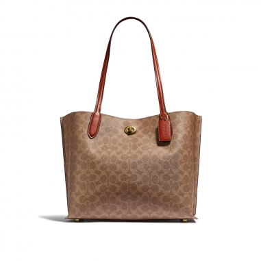Coach蔻馳(精品) WILLOW TOTE 皮包