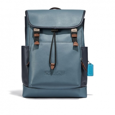 Coach蔻馳(精品) LEAGUE FLAP BACKPACK 後背包