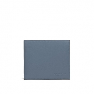 Coach蔻馳(精品) COIN WALLET 皮夾短夾