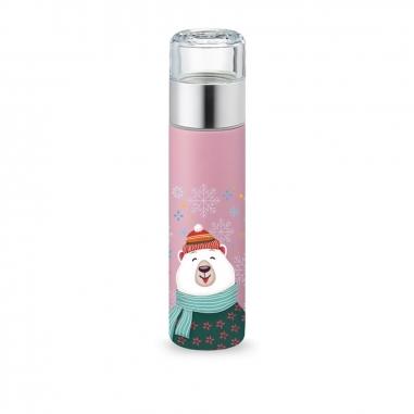 PO SelectedPO Selected 攜帶式保溫泡茶杯-北極熊款(多色可選)