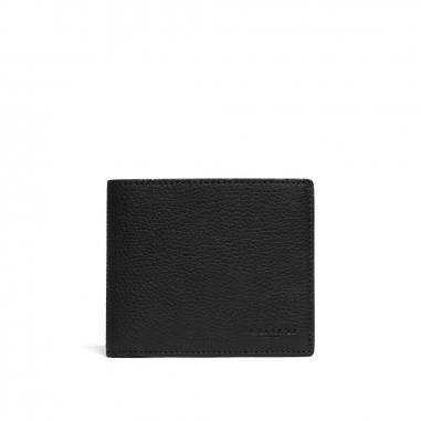 Coach蔻馳(精品) COMPACT ID WALLET皮夾短夾