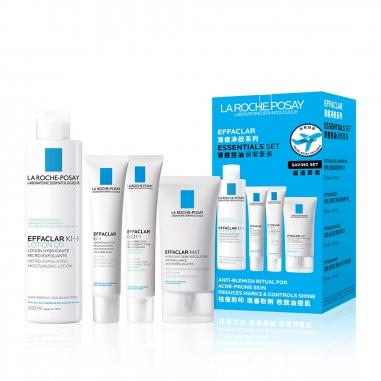 La Roche-Posay理膚寶水 淨膚控油調理特惠組