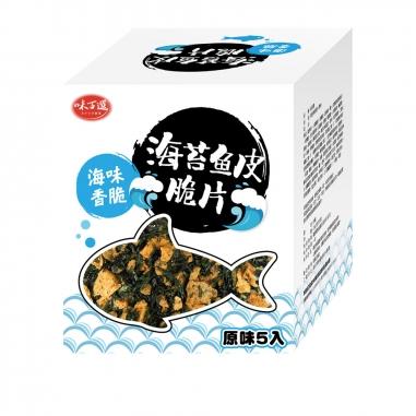 味百選味百選 原味海苔魚皮脆片
