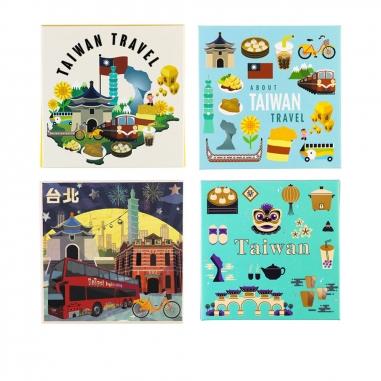 Lai Hao來好 來好吸油面紙組-經典台灣