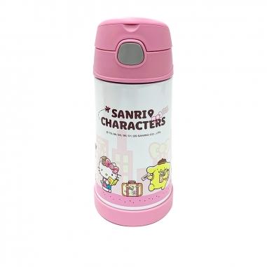 EVERRICH昇恆昌獨家開發監製 Hello Kitty 兒童不鏽鋼保溫保冷瓶