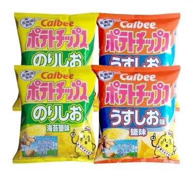calbeecalbee Calbee北海道洋芋片4包入