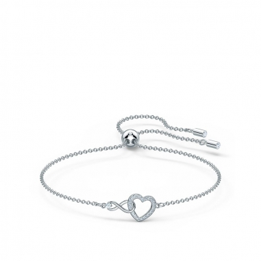 Swarovski施華洛世奇 Swarovski Infinity Heart 手鏈