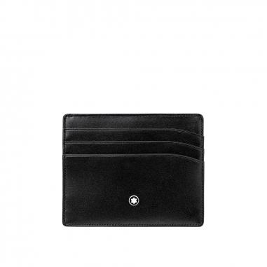 Montblanc萬寶龍(精品) Meisterstuck Pocket 6CC 名片夾信用卡夾