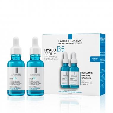 La Roche-Posay理膚寶水 玻尿酸B5抗皺精華兩瓶裝特惠組
