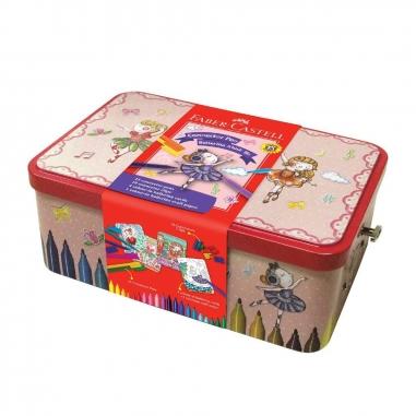 Faber-Castell輝柏 連接筆音樂盒彩色筆25色
