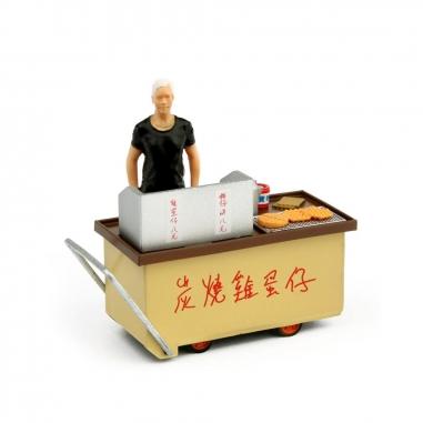TINY微影 1/35 炭燒雞蛋仔車仔檔 _02(香港)