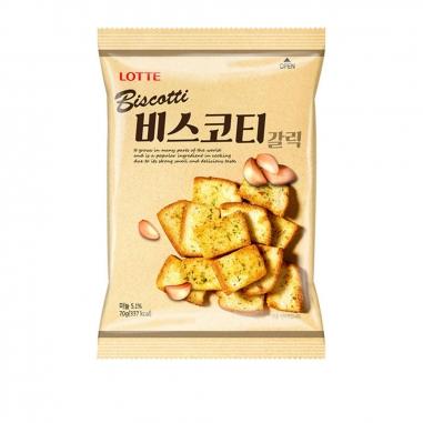 LotteLotte 大蒜麵包餅乾