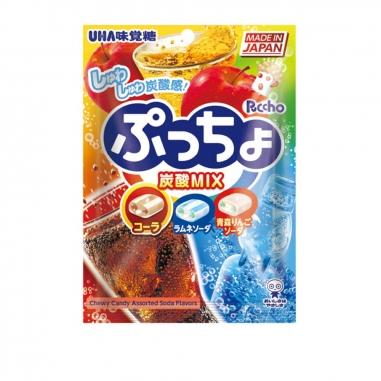 UHA味覺糖 普超軟糖-綜合汽水味