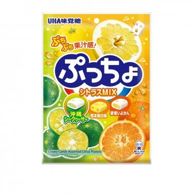 UHA味覺糖 普超軟糖-綜合柑橘味