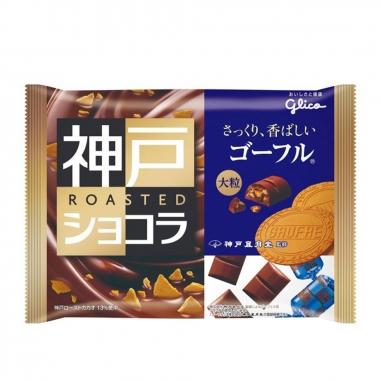 Glico固力果 Glico神戶香脆巧克力餅乾