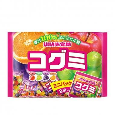 UHA味覺糖 酷Q彌軟糖-水果味分享包