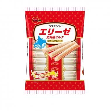 Bourbon北日本 北日本牛奶艾莉絲威化餅乾