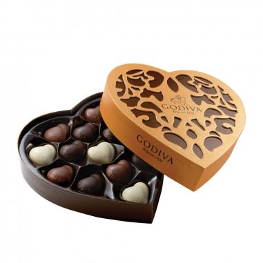 GodivaGodiva 經典心形巧克力禮盒