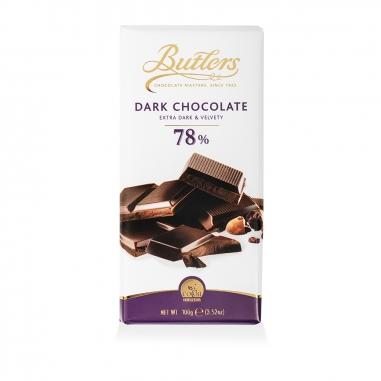 ButlersButlers 78%巧克力磚