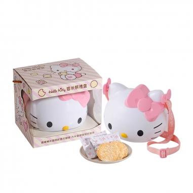 九利臻九利臻 Hello Kitty 雪米餅禮盒-造型筒