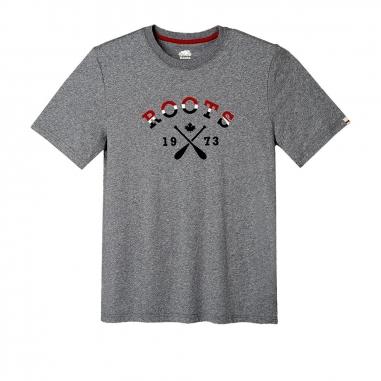 RootsRoots MAY- LAKESIDE CABIN男性T恤