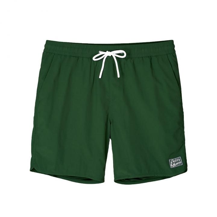 WOVEN SHORTMAY- CAMP男性短褲