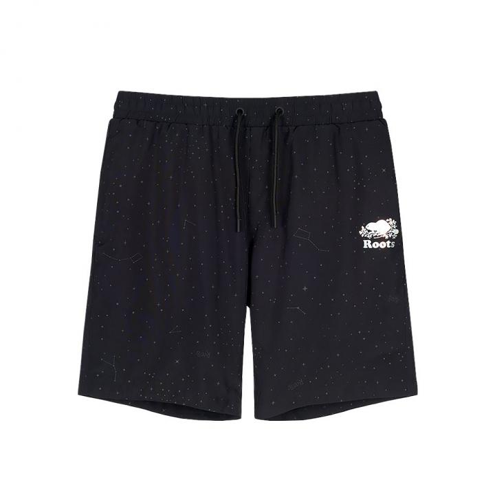 WOVEN SHORTMAY- GALAXY男性短褲
