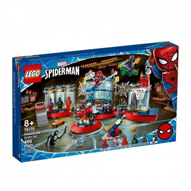LEGO樂高 LEGO 76175 超級英雄系列 AttackSpiderLair
