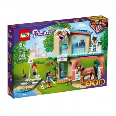 LEGO樂高 LEGO 41446 Friends系列心湖城獸醫診所