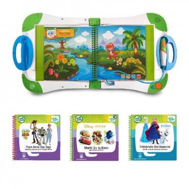 Leapfrog跳跳蛙 新版全英幼童行動學習機+3書(LV2-LV3)