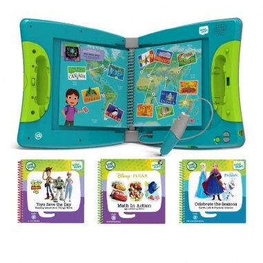 Leapfrog跳跳蛙 全英兒童行動學習機+3書(LV2-LV3)