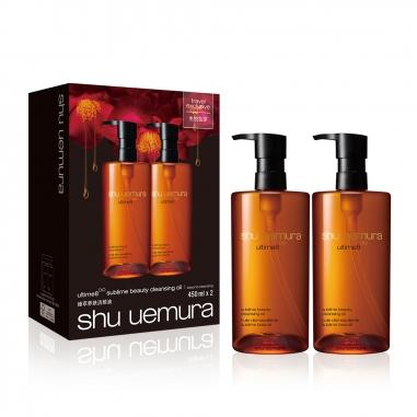 Shu Uemura植村秀 全新 全能奇蹟金萃潔顏油大容量兩件特惠組