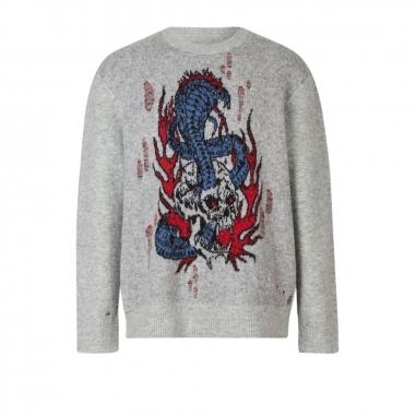 AllSaints歐聖 VIPER SAINTS 針織衫