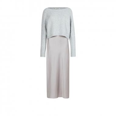 AllSaints歐聖 ROSETTA TINSEL 洋裝