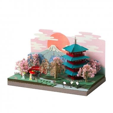 Jean Cultural知音文創 紙模型DIY手作材料包-日本四季(多款可選)