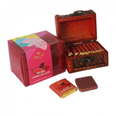Diva LifeDiva Life 紅寶石粉紅巧克力 迷你珠寶盒