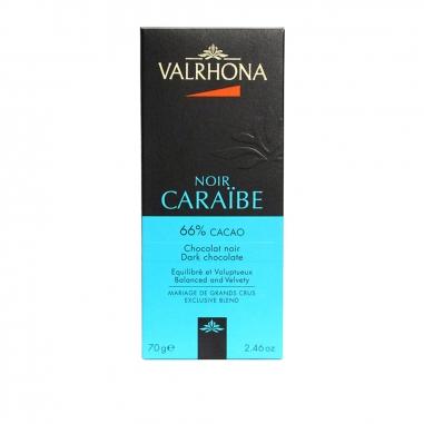 Valrhona法芙娜 66%黑巧克力磚