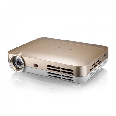 Optoma奧圖碼 Optoma 高清微型智慧投影機ML330金色