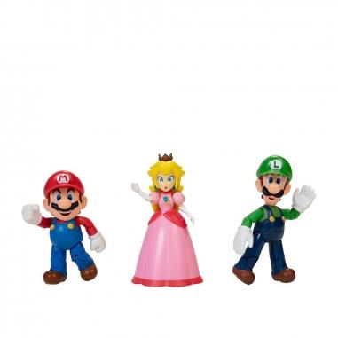Nintendo任天堂 超級瑪利歐 蘑菇王國4吋公仔組