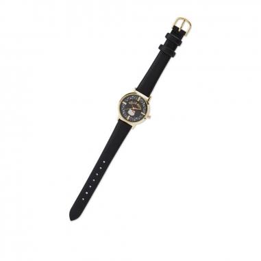 Sanrio三麗鷗 Hello Kitty 手錶-金黑色款