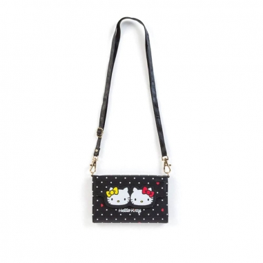 Sanrio三麗鷗 多功能手機隨身包:Hello Kitty
