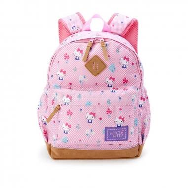 Sanrio三麗鷗 Hello Kitty 小花款兒童後背包