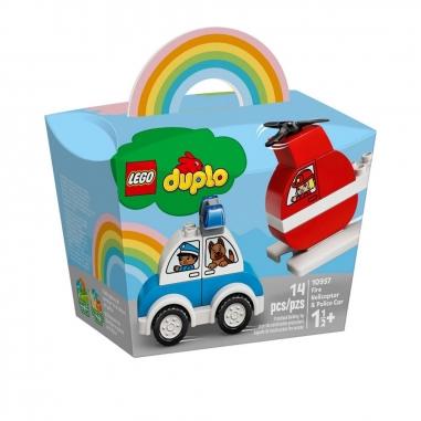 LEGO樂高 LEGO 10957 得寶系列消防直升機警車