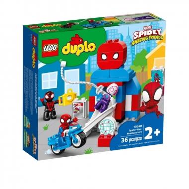 LEGO樂高 LEGO 10940 得寶系列蜘蛛人總部