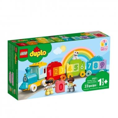 LEGO樂高 LEGO 10954 得寶系列數字火車學習數數