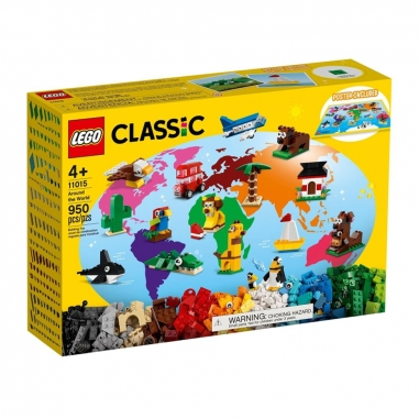 LEGO樂高 LEGO 11015 經典系列環球動物大集合