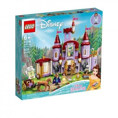 LEGO樂高 LEGO 43196 公主系列美女與野獸城堡