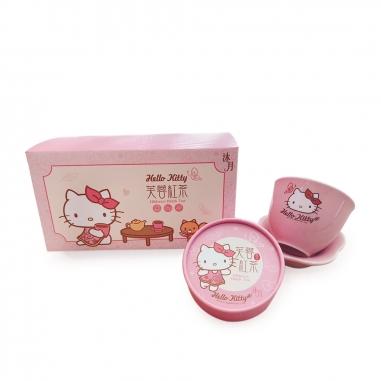 Sanrio三麗鷗 Hello kitty 芙蓉紅茶杯盤禮盒組